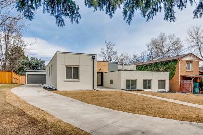 Denver Single Family Home Active: 1560 Kearney Street