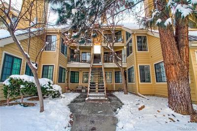 Denver Condo/Townhouse Under Contract: 4874 East Kentucky Avenue #E