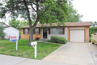 Arvada Single Family Home Under Contract: 7449 Kendall Street