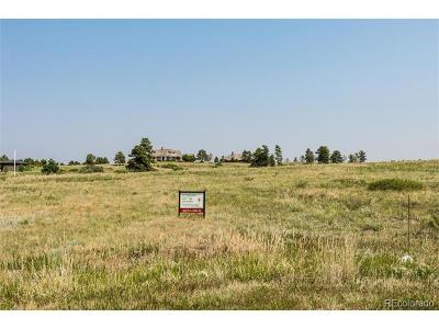 Parker Residential Lots & Land Active: 8515 Catena Court