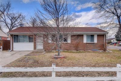 Denver Single Family Home Active: 2081 West 80th Avenue