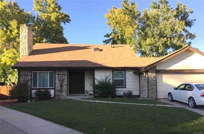 Aurora Single Family Home Active: 17009 East Atlantic Place