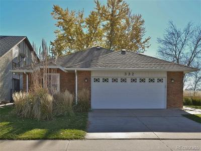 Longmont Single Family Home Active: 332 Eagle Court