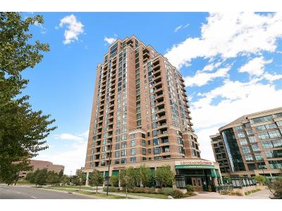 Denver Condo/Townhouse Active: 8100 East Union Avenue #1005