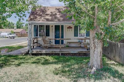 Denver Single Family Home Active: 2695 West College Avenue