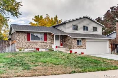 Littleton Single Family Home Active: 9585 West Lake Place