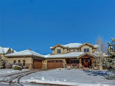 Castle Pines CO Single Family Home Under Contract: $1,295,000