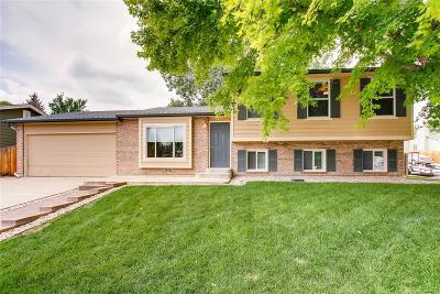Littleton Single Family Home Under Contract: 7971 South Estes Street