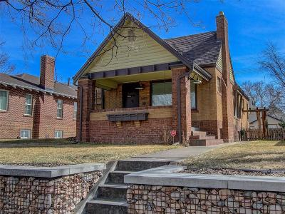 Denver Single Family Home Under Contract: 1452 South Vine Street