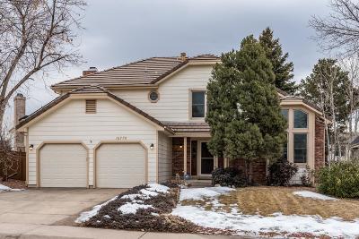 Centennial Single Family Home Active: 16770 East Prentice Avenue
