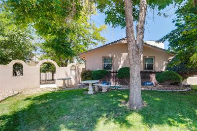 Northglenn Single Family Home Under Contract: 11163 Pinyon Drive