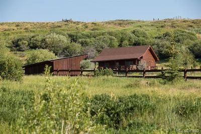 Routt County Single Family Home Active: 27575 County Road 7c