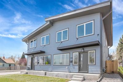 Denver Condo/Townhouse Active: 1195 South Mariposa Street