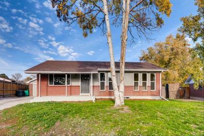 Northglenn Single Family Home Active: 11713 Quam Drive