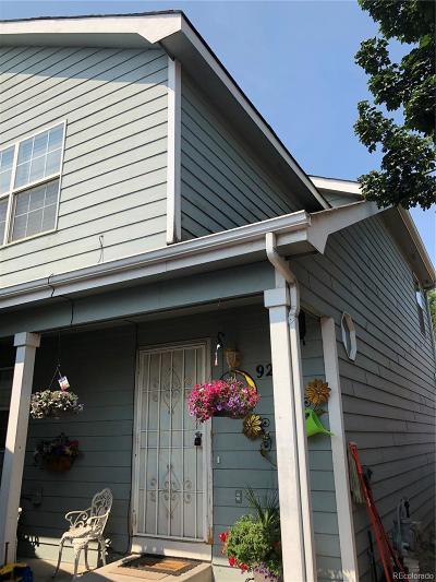 Denver Condo/Townhouse Active: 92 Del Norte Street