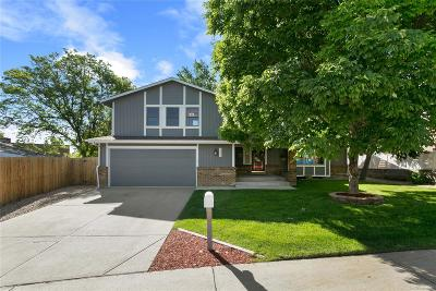 Littleton Single Family Home Active: 6834 South Zephyr Court