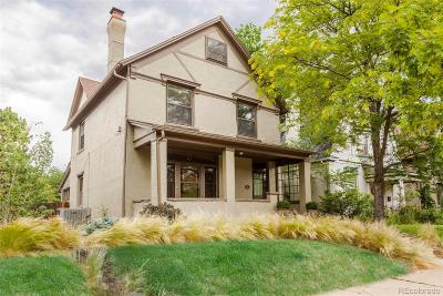 Denver Single Family Home Under Contract: 445 Clarkson Street