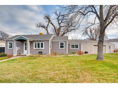 Wheat Ridge Single Family Home Under Contract: 4210 Newland Street
