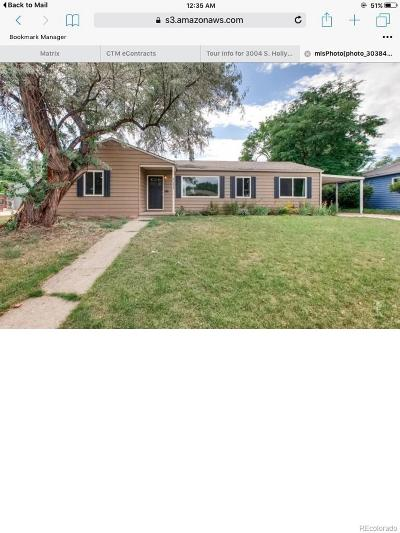 Denver Single Family Home Active: 3004 South Holly Place