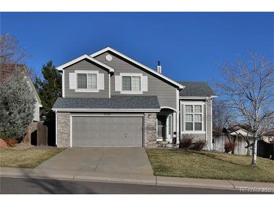 Littleton Single Family Home Active: 6512 South Taft Way