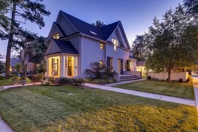 Denver Single Family Home Under Contract: 5238 East 17th Avenue Parkway