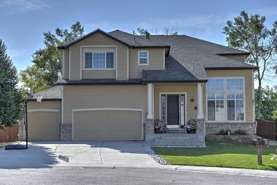 Parker Single Family Home Under Contract: 17578 Gypsum Court