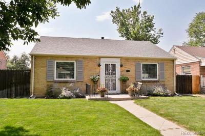 Denver Single Family Home Under Contract: 2555 Hudson Street