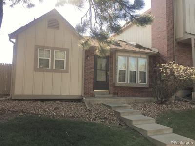 Littleton Condo/Townhouse Active: 9626 West Chatfield Avenue #A