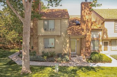 Highlands Ranch Condo/Townhouse Under Contract: 896 Summer Drive #15D