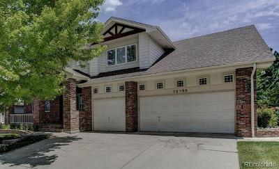 Aurora Single Family Home Active: 22189 East Costilla Drive