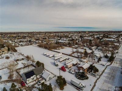 Arapahoe County Residential Lots & Land Under Contract: 9437 East Colorado Avenue