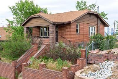 Denver Single Family Home Under Contract: 760 Julian Street