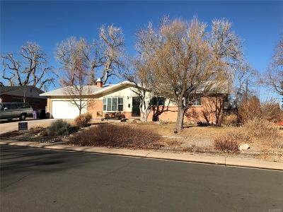 Denver Single Family Home Under Contract: 3995 West Linvale Place