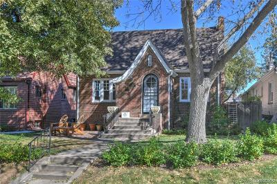 Denver Single Family Home Active: 712 Harrison Street