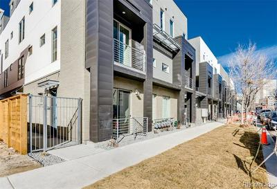 Denver Condo/Townhouse Active: 1325 Elati Street #3