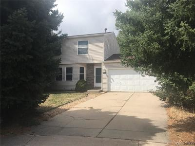 Aurora Single Family Home Under Contract: 17316 East Wagontrail Parkway