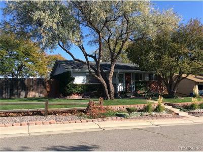 Arvada Single Family Home Active: 6174 Allison Street