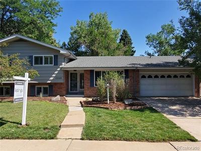 Denver Single Family Home Active: 6445 East Harvard Avenue