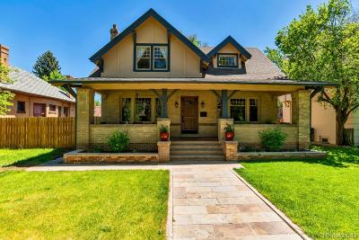 Denver Single Family Home Under Contract: 2542 Ash Street