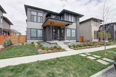 Denver Single Family Home Under Contract: 8771 East 52nd Place