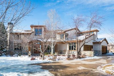 Greenwood Village Single Family Home Active: 5701 South Aspen Court