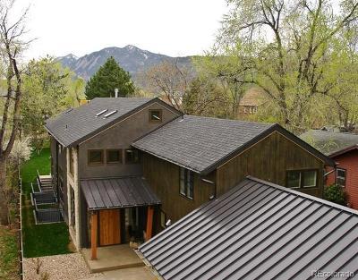 Boulder Single Family Home Active: 1100 Juniper Avenue