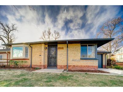 Denver CO Single Family Home Active: $379,850