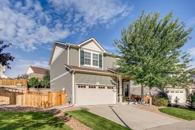 Castle Rock Single Family Home Under Contract: 1943 Morningview Lane