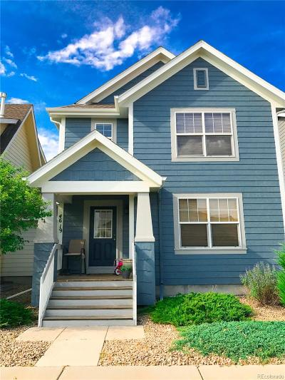 Brighton Single Family Home Under Contract: 4619 Tanner Peak Trail