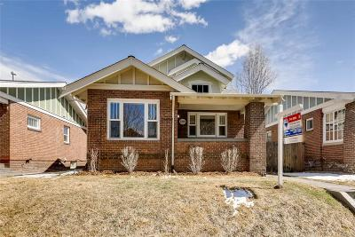 Denver CO Single Family Home Active: $1,025,000