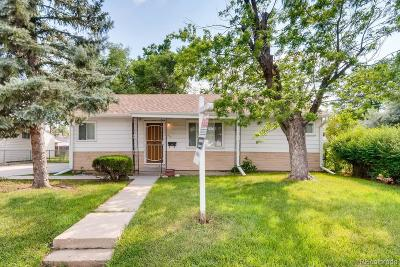 Denver Single Family Home Active: 511 South Xavier Street