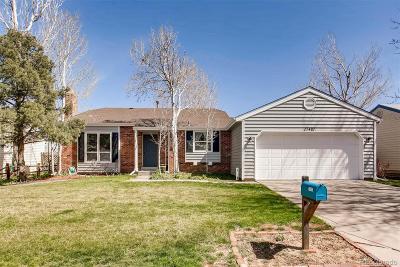 Centennial Single Family Home Active: 17421 East Progress Drive