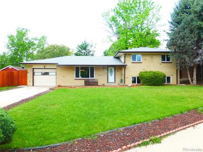 Arvada Single Family Home Active: 6581 Saulsbury Court