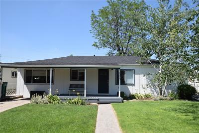 Wheat Ridge Single Family Home Under Contract: 10875 West 38th Place